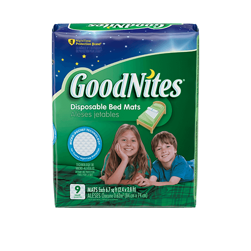 Mantas desechables GoodNites®