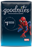 Boys GoodNites® NightTime Underwear