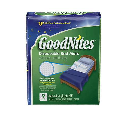 Goodnites 174 Disposable Bed Mats Amp Bedwetting Mattress Pads