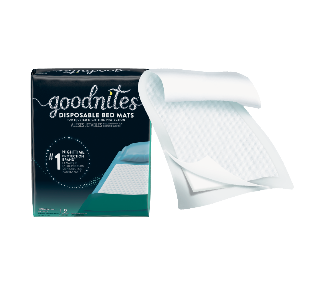 GoodNites® Disposable Bedwetting Pads