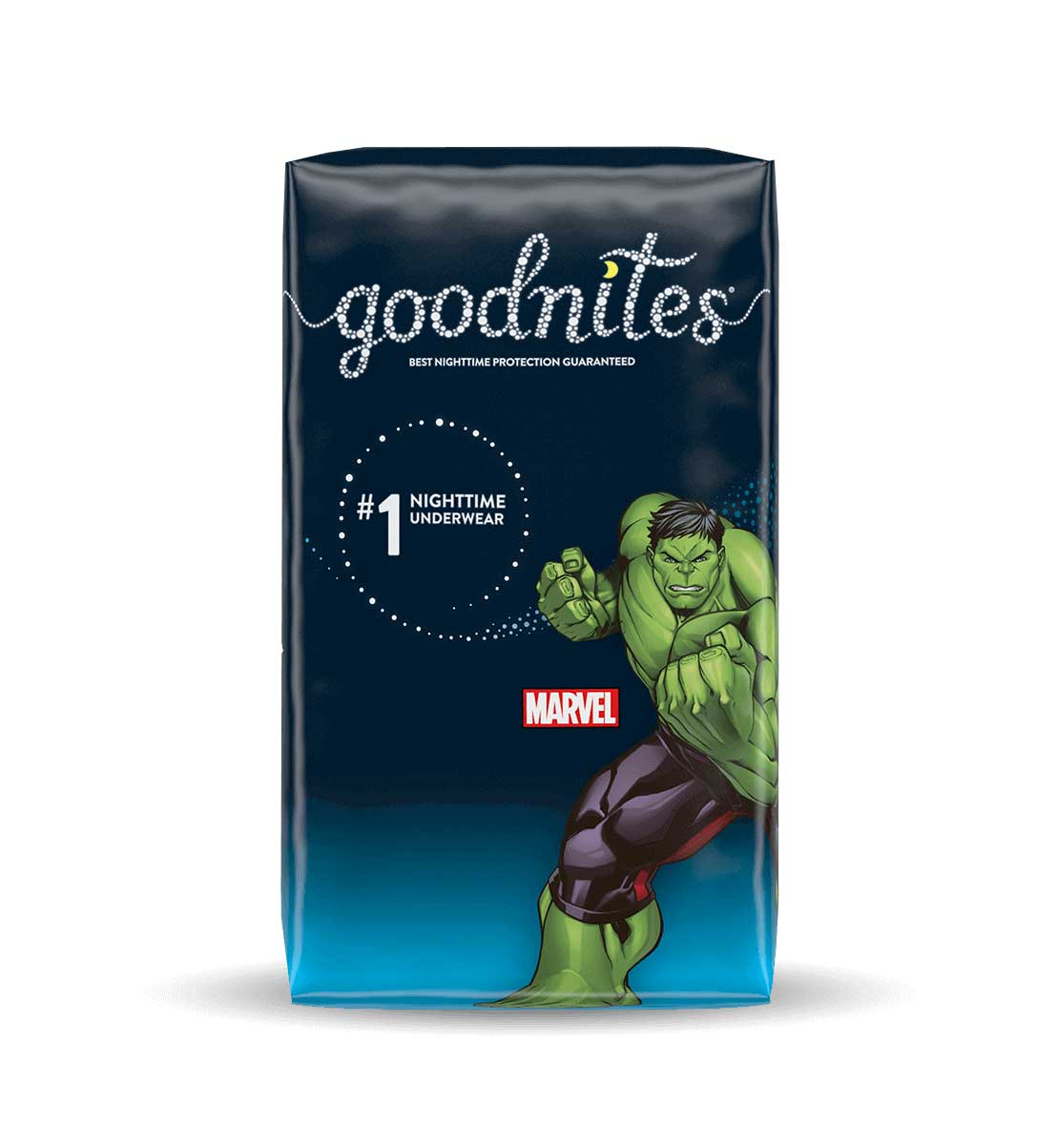 Boys GoodNites® Hulk pattern NightTime Underwear Pack