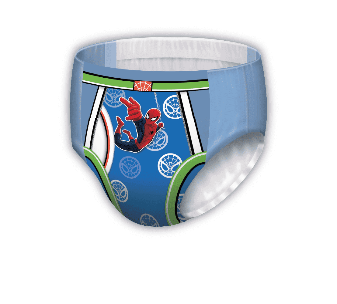 Boys GoodNites® Iron Man pattern bedtime pant
