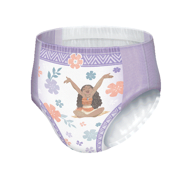 Girls GoodNites® Princess Elena pattern NightTime Underwear for Girls